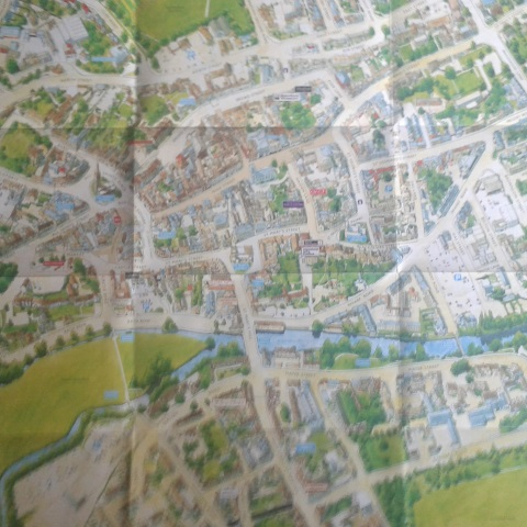 [Map of Canterbury]